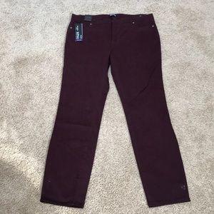 NWT! David Bitton Sz 14/34 hope skinny jeans